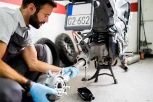 Racing Motorcycle Repair